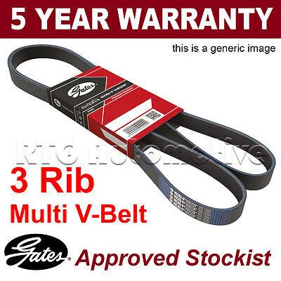 Gates Alternator Fan Drive V Belt For Citroen Relay XM Peugeot 605 Boxer 3PK945