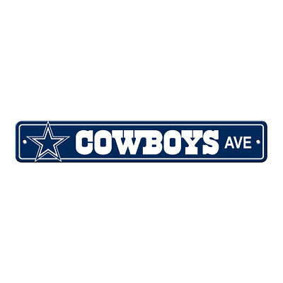 New NFL Dallas Cowboys Home Decor AVE Street Sign 24