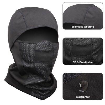 Lightweight Soft Warm Fleece Ear-Flap Winter Hat/Hood Fr Men,Women Outdoor Sport ()