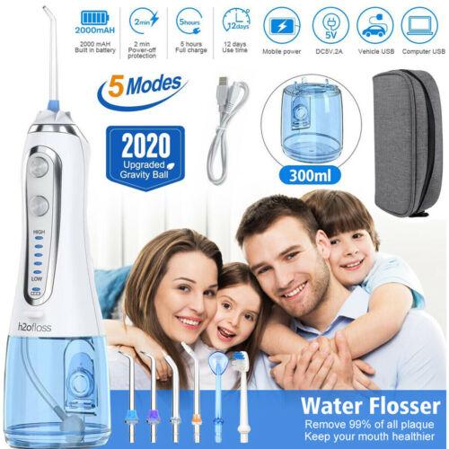 Oral Irrigator Dental Water Jet Power Floss Air Power Flosse