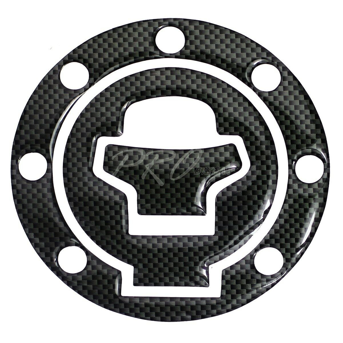 SUZUKI GSX600F 1998-2005 Carbon Fiber Look Top Yoke Protector Cover Decal