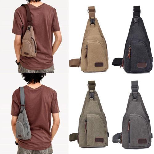 Men's Military Canvas Satchel Shoulder Bag Messenger Bag Tra