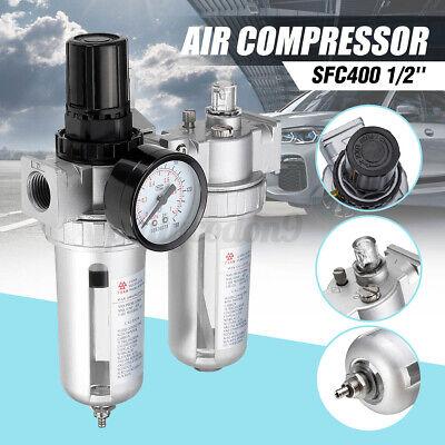 Sfc400 12 Air Compressor Oil Lubricator Moisture Water Trap Filter