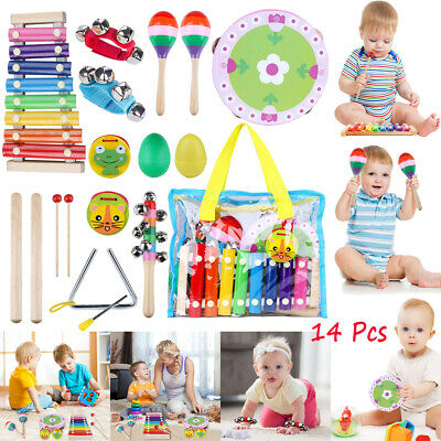 Toddler Educational/Musical Percussion Tambourin instruments Toys for Kids Gifts