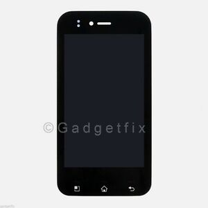 LG T-Mobile myTouch E739 LCD Screen Touch Digitizer Assembly Front Housing OEM