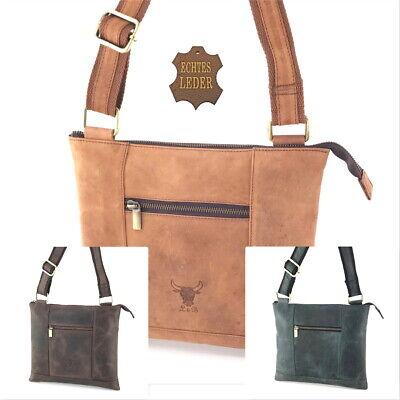 Leder Umhängetasche Vintage Büffelleder Schultertasche Fashion Crossbody Tasche