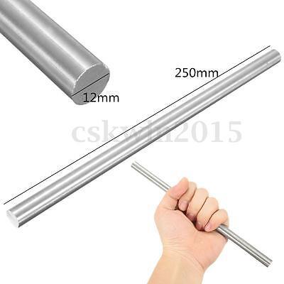 12mm Diameter Titanium Ti Round Bar .472 X 10 Ti Gr.5 Gr5 Rod Grade 5 Stock