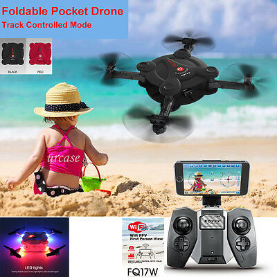 FQ777 FQ17W WIFI FPV Foldable Pocket Drone With 0.3MP Camera Altitude Hold Mode