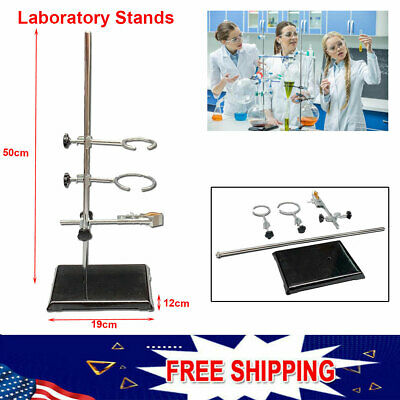 Laboratory Stands Support And Lab Clamp Flask Clamp Condenser Clamp Stands 50cm