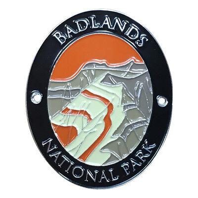 Badlands National Park Walking Hiking Stick Medallion - South Dakota ()