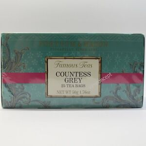 Fortnum and Mason UK Countess Grey Fortnum's Famous Tea 25 Tea Bags