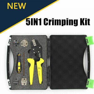 Paron Jx-ds5 Pro Wire Crimper Tool Pliers Crimping Kit4 Die Sets