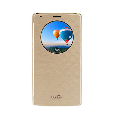 Genuine LG Quick Circle Wireless Charging Case Cover For G4 (Gold)