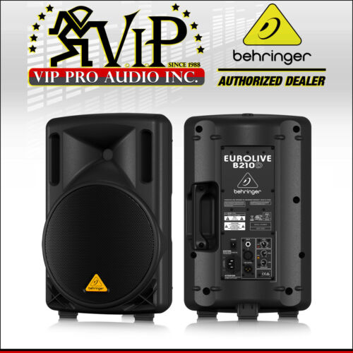 """Behringer B210D Active 10"""" Class-D Amplified Live Sound Powered Speaker w/DSP"""
