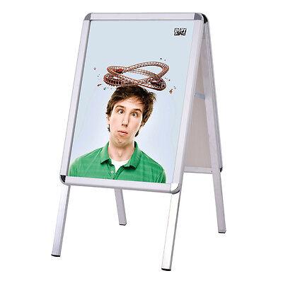 Kundenstopper Plakatständer Werbetafel Werbeträger Alu Gehwegaufsteller Tafel A2