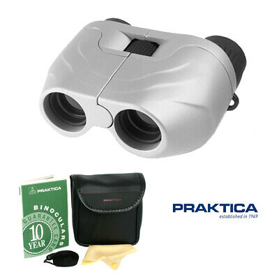 New CN7-22x Zoom Praktica Binoculars Folding Compact Pocket Bird Watching Travel