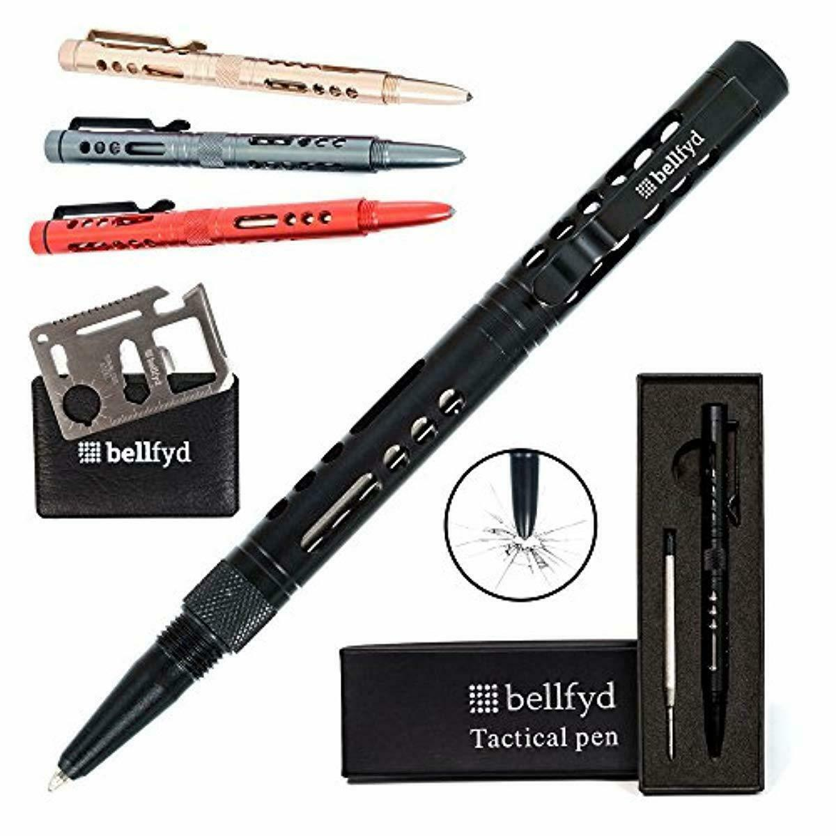 Tactical EDC Pen with Glass Breaker - Metal Personal Protect