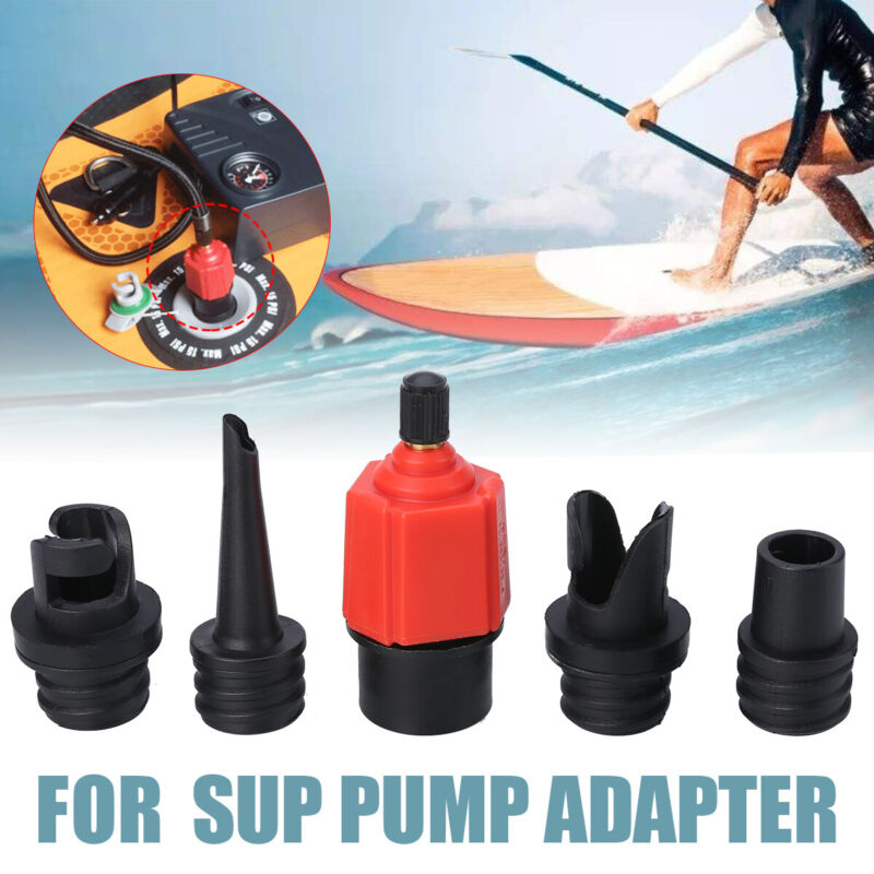4 types nozzle sup tire pump adapter