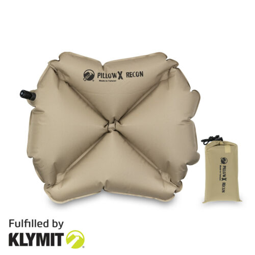 KLYMIT Pillow X Recon Camping Travel Pillow Lightweight - BRAND NEW