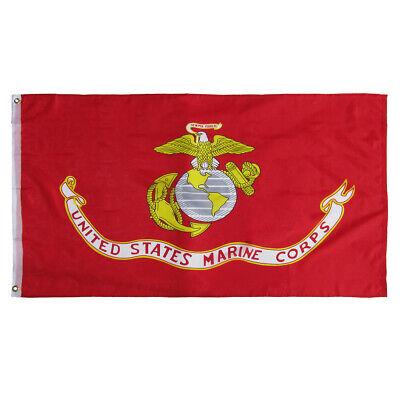 US Marine Corps Semper Fi 3x5 Foot Flag 3'x5' Ft Yard Banner