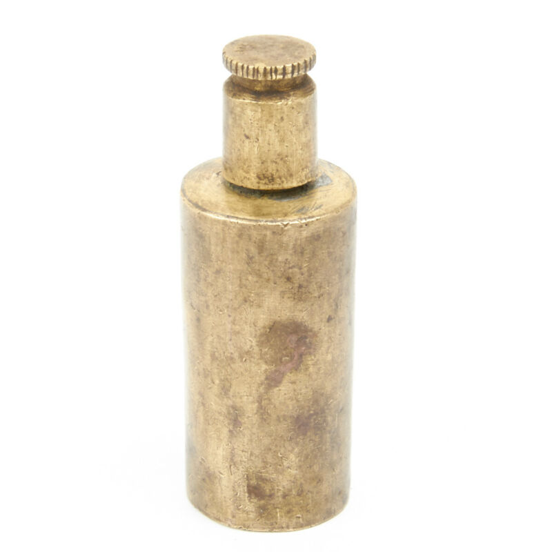 Original Martini-Henry Rifle Brass Oil Bottle