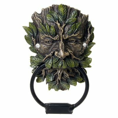 Wildwood Tree Spirit Front Door Knockers Green Man Gothic Old Vintage Antique