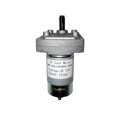 Dual Shaft Dc24v 11rpm High Torque Low Speed Electric Metal Gear Reduction Motor