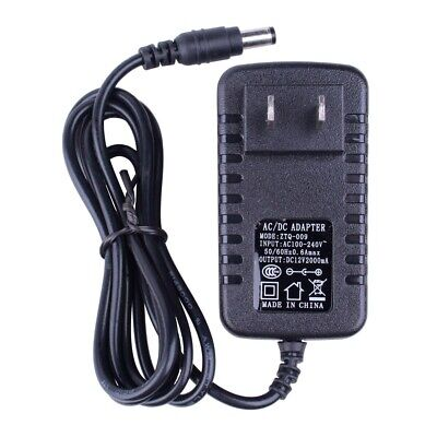 Ac 110-240v Switch Adapter Dc 12v 2a Power Supply Plug For Cctv Security Camera