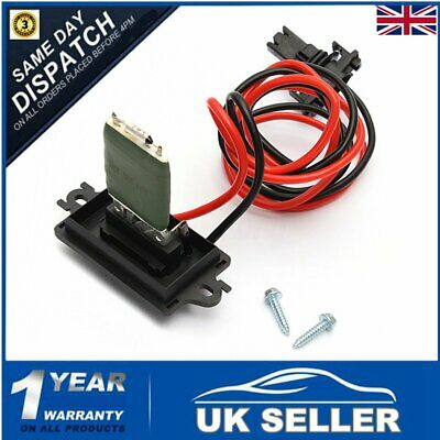 Heater Blower Motor Fan Resistor 7701207876 For Renault Megane Scenic II MK2 MK3