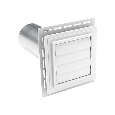 Ply Gem White Exhaust Vent