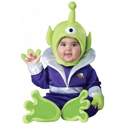 Alien Costume Baby Martian Toy Story Halloween Fancy Dress