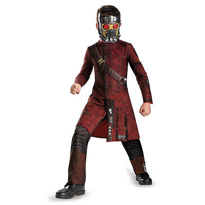 Guardians Of The Galaxy Star-Lord Classic Child Costume Marvel Disguise 73396](Starlord New Costume)