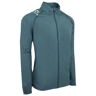 adidas Men's ClimaProof 3-Stripes Full Zip Jacket