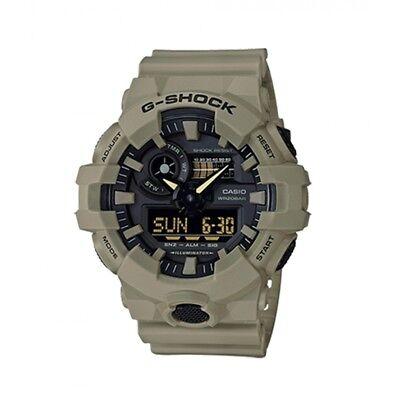 NEW Casio G-SHOCK GA700UC-5A Super Illuminator 3D Ana-Digital Men's Watch | TAN
