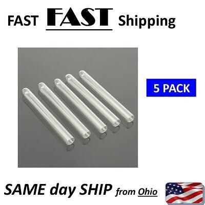 Lab Glass 100 Mm Pyrex Glass Blowing Tubes 4 Inch Long Thick Wall Test Tube