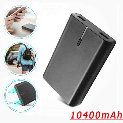 10400mah portable Power Bank Backup External USB Battery Charger For Cell Phone