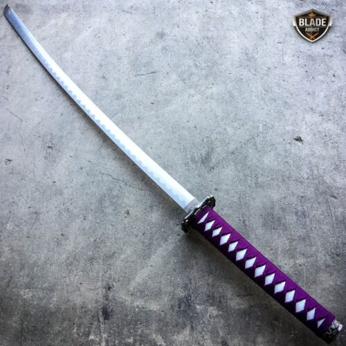 Japanese Samurai Sword KATANA High Carbon Steel Ninja Blade Dragon KNIFE Tang