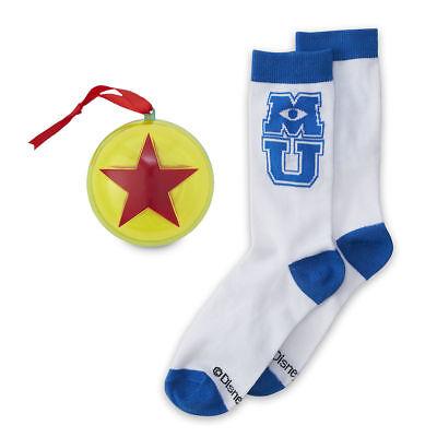 Disney Store Monsters University Socks in Pixar Ball Ornament Set Women Adults