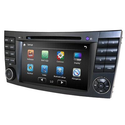Autoradio DVD GPS Bluetooth Navi Stereo Für Mercedes Benz CLS W219 E Klasse W211