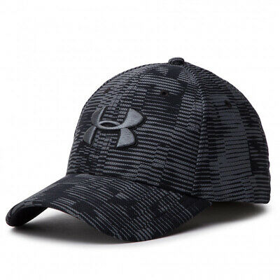 Mens Under Armour Printed Blitzing 3.0 Sized Black Cap (TGA39) RRP £29.99