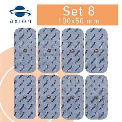8 x Elektroden groß Pads 100x50mm für SANITAS SEM Beurer Vitacontrol