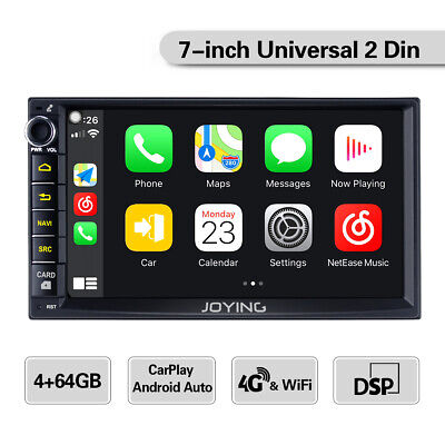 JOYING 7 Pollici Android 8.1 Car Stereo 4G Model DSP WiFi GPS Double 2 Din 4 GB