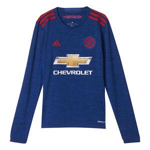 24dd04c81 adidas Mens Gents Football Soccer Manchester United Home Shirt 2016 ...