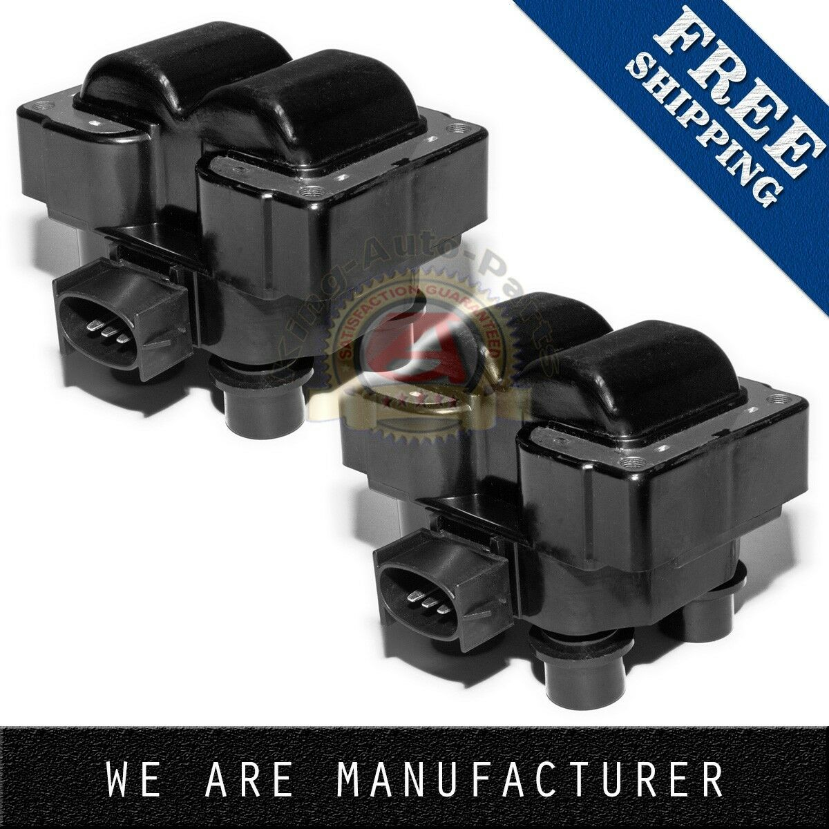 Pack of 2 Ignition Spark Coil Coils For FORD MAZDA MERCURY 1988-2003 FD487 DG530