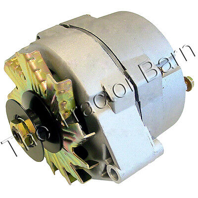12 Volt 63 Amp Alternator With Pulley John Deere Ford Case Ih Farmall Massey
