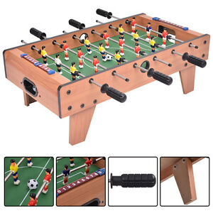 27'' Foosball Table Top Football Soccer Kids Family Game Toy Set Wooden Frame