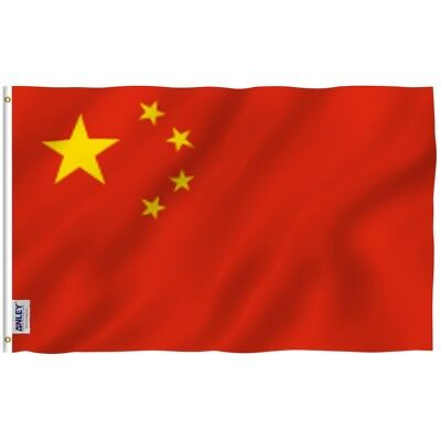 ANLEY Chinese Flag China National Banner Polyester 3x5 Foot Country Flags