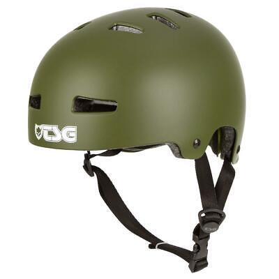 TSG BMX/Dirt Helm Evolution Solid Color - Satin Olive