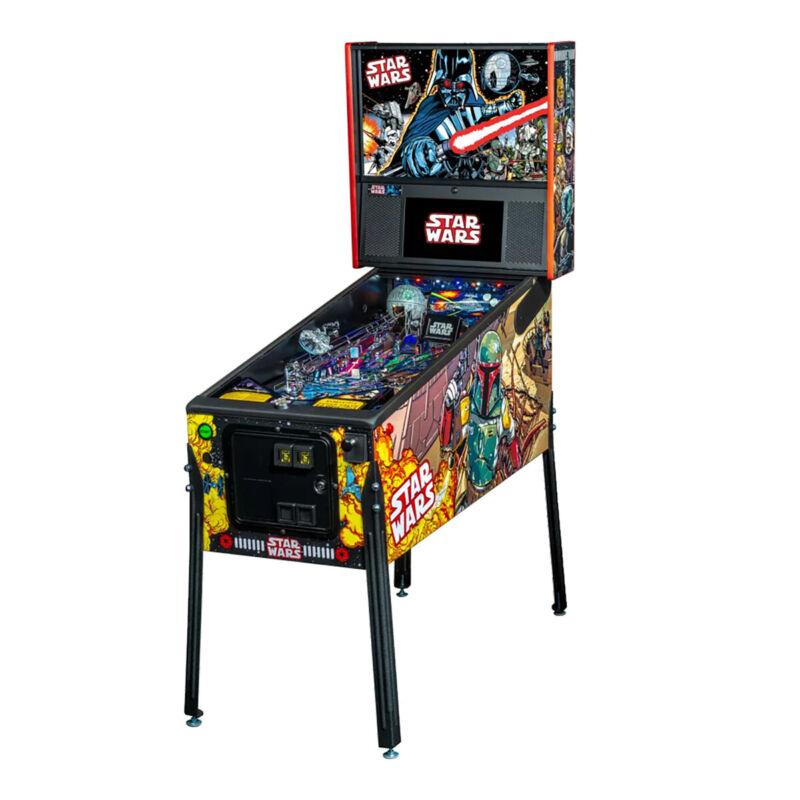 Stern Star Wars Comic Art Premium Pinball Machine