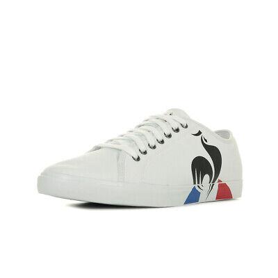Sportif Coq Blanc Canvas Blanche Homme Bold Le Verdon Baskets Taille Chaussures iXZkuP